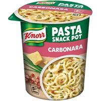 Snack Pot Knorr spaghetti carbonara 71 g /8 kpl ltk - nopea spagettiateria, lisää vesi, valmis 5 min