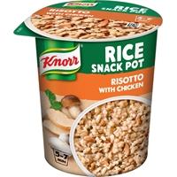 Snack Pot Knorr kanarisotto 75 g /8 kpl ltk - maukas kanarisotto, lisää vain vesi, valmis 5-7 min