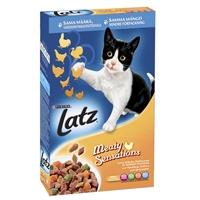 Kissanruoka Latz kana 400 g /10 kpl ltk - kuiva täysravinto aikuiselle kissalle
