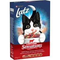 Kissanruoka Latz liha 400 g /10 kpl ltk - kuiva täysravinto aikuiselle kissalle