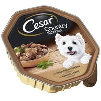 Koiranruoka Cesar Country Kitchen liha-kalkkuna 150 g /12 kpl ltk - täysravinto aikuiselle koiralle