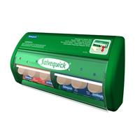 Laastariautomaatti Salvequick - sisältää kangas- ja muovilaastareita