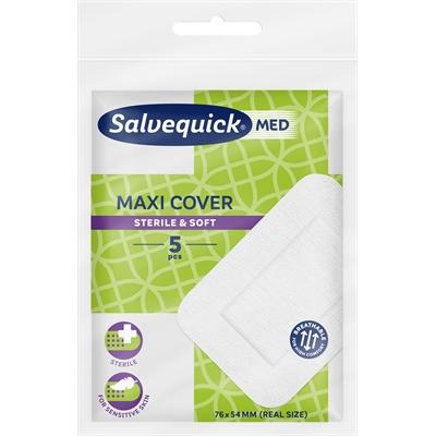 Laastari Salvequick Maxi Cover 76 x 54 mm/5