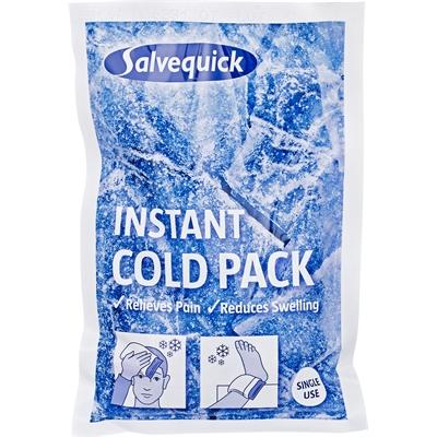 Kylmähaude Salvequick Instant Cold Pack /6 kpl - kylmäpussi kylmenee puristamalla, ilman pakastinta