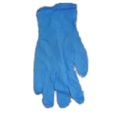 Nitriilikäsine, sininen, puuteriton, koko L/100 - CE-sertifioitu