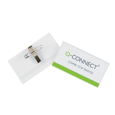 Nimikorttikotelo Q-Connect Combi 54X90 /50 kpl