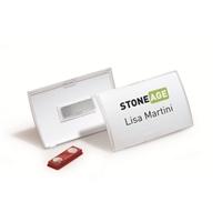 Nimikorttikotelo Durable 8215 magneettikiinnitys 90X54mm /10