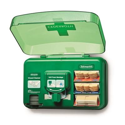 Haavanhoitoautomaatti Cederroth - kaikki mitä tarvitset pienten haavojen hoitoon
