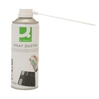 Puhdistusspray Q-Connect 400 ml - HFC-vapaa paineilma ei kuormita otsonikerrosta
