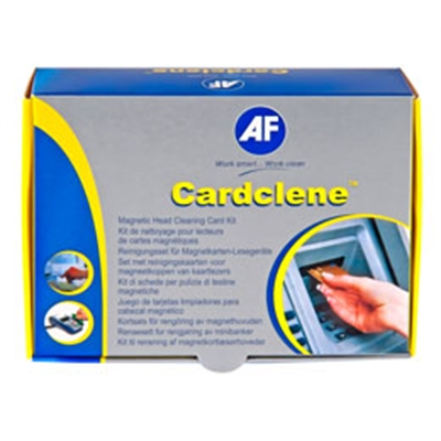 Korttilukijan puhdistuskortti magn. 20 savettia