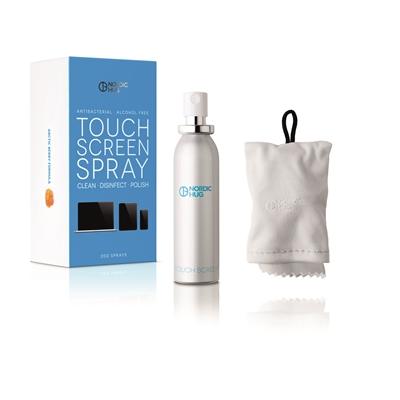 Puhdistusspray Touch Screen Nordic Hug 30 ml desinfioiva