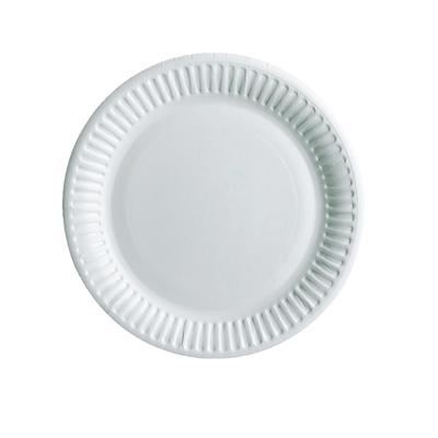 Kartonkilautanen 15 cm valkoinen /100 kpl