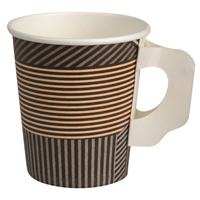 Kahvikuppi kartonki Abena Gastro Line korvalla 175ml /50 kpl pss