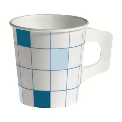 Kahvikuppi Siniruutu korvallinen 17.5cl/80