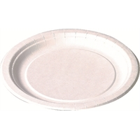 Kartonkilautanen Freetime Standard 15 cm valkoinen/100 kpl
