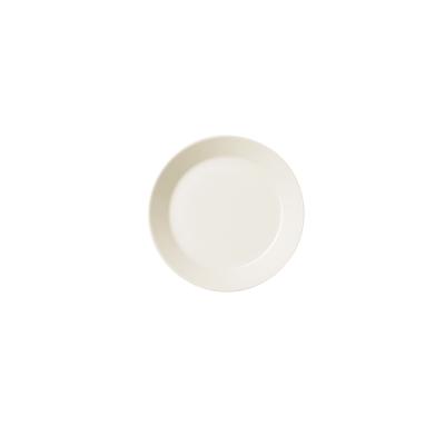 Lautanen Teema 17cm matala valkoinen