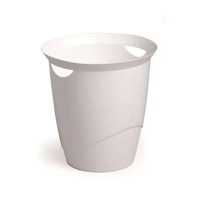 Paperikori Durable Trend 16l valkoinen