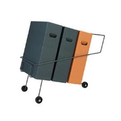 Paperi/roskalajittelija RecoEco 3-osainen
