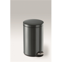 Polkuroska-astia Durable metalli 12l musta