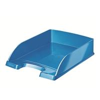 Lomakelaatikko Leitz Plus WOW A4 sininen - kierrätysmuovia