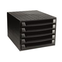 Laatikosto Box 5-os Ecoblack musta