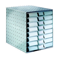 Laatikosto system 8-osainen harmaa/harmaa