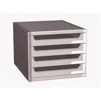 Laatikosto Big-box 4-osainen harmaa