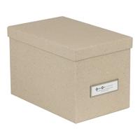 Säilytyslaatikko Bigso Kristina natural 22x14x14,5 cm - uusiutuvista kierrätettävistä materiaaleista