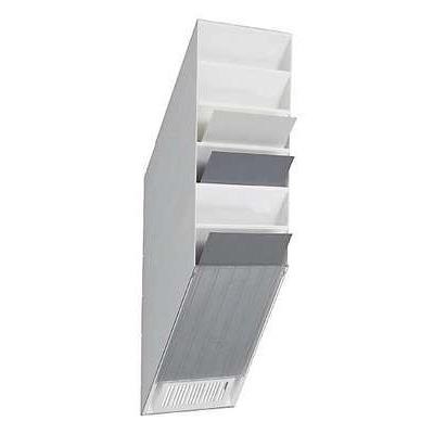 Lomaketeline Flexiboxx 9760 6-osainen pysty valkoinen