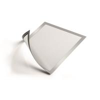 TULOSSA LISÄÄ! Magneettikehys / infokehys Durable Duraframe Magnetic A4 hopea /5 kpl