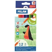 Värikynä Milan 12 väriä
