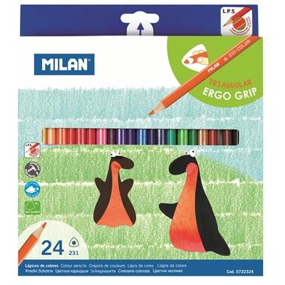 Värikynä Milan 24 väriä