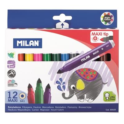 Huopakynä Milan Jumbo 12 väriä