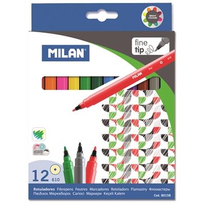 Huopakynä Milan 12 väriä