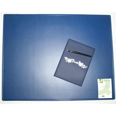 Kirjoitusalusta Q-Connect 40X53cm sininen
