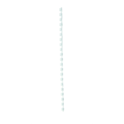 Kampaselkä Q-Connect 6mm valkoinen/100