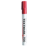 Huopakynä Textmark 700 punainen