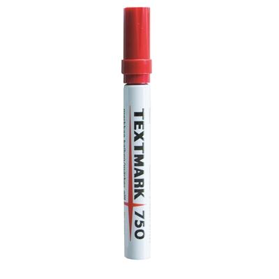 Huopakynä Textmark 750 punainen
