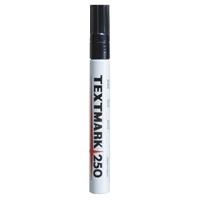 Maalikynä Textmark 250 musta - peittävä, veden- ja valonkestävä maalitussi