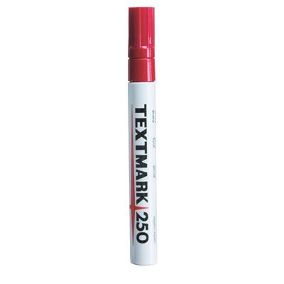Maalikynä Textmark 250 punainen - peittävä, veden- ja valonkestävä maalitussi