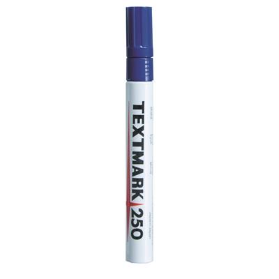 Maalikynä Textmark 250 sininen - peittävä, veden- ja valonkestävä maalitussi