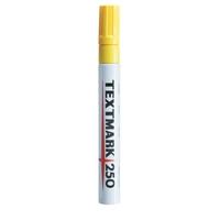 Maalikynä Textmark 250 keltainen - peittävä, veden- ja valonkestävä maalitussi
