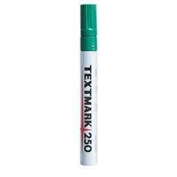 Maalikynä Textmark 250 vihreä - peittävä, veden- ja valonkestävä maalitussi