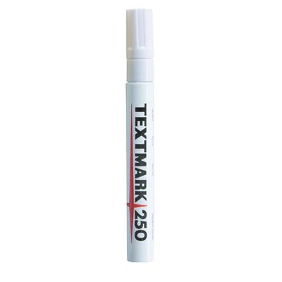 Maalikynä Textmark 250 valkoinen