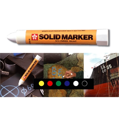Maalikynä Sakura Solid Marker XSC-T vihreä - erinomainen säänkesto, jopa -40°C