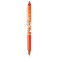 Kuulakärkikynä Pilot Frixion Clicker 07 oranssi - poispyyhittävä muste ja vaihdettava mustesäiliö