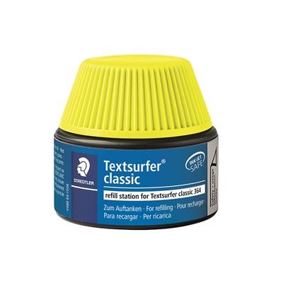 Täyttösäiliö Textsurfer 364-1 keltainen 30 ml - kynä täyttyy itsekseen ilman sotkua