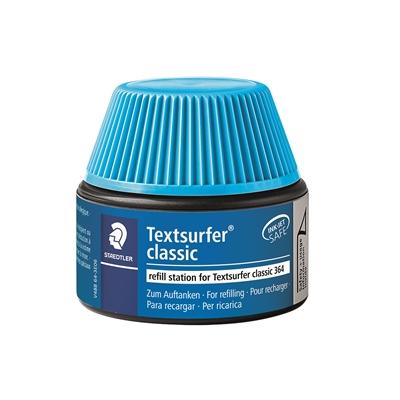 Täyttösäiliö Textsurfer 364-3 sininen 30 ml - kynä täyttyy itsekseen ilman sotkua