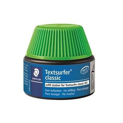 Täyttösäiliö Textsurfer 364-5 vihreä 30 ml - kynä täyttyy itsekseen ilman sotkua