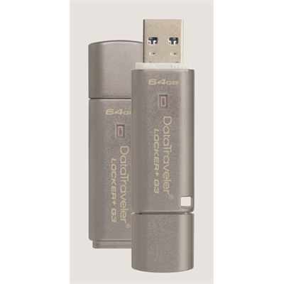 Muistitikku Kingston DataTraveler DTLPG3 32GB secure USB 3.0